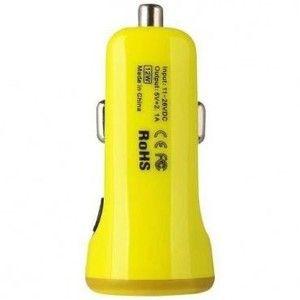 фото Baseus 2.1A Dual USB Car Charger Sport Yellow (CCALL-CR0Y)