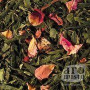 фото Aromisto Зел ный ароматизированный чай Чабрец-клубника 50g