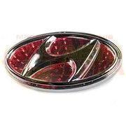 фото Slight Светодиодная подсветка эмблемы Hyundai 3D Elantra (красная)