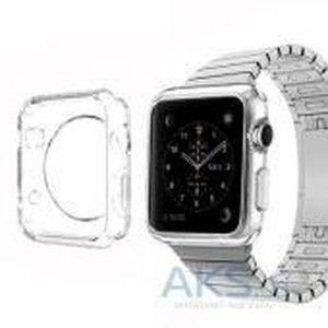 фото iBest чехол для Apple Watch 38mm TPU Case Clear