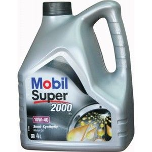 фото Mobil Super 2000 X1 10W-40 4л