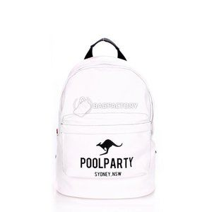 фото Poolparty backpack-the one / kangaroo-white
