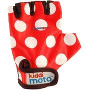 фото Kiddimoto Red Dotty gloves