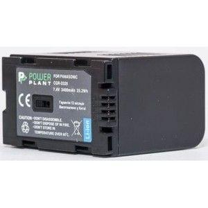 фото PowerPlant Aккумулятор для Panasonic D320, D28S (3400 mAh) - DV00DV1094