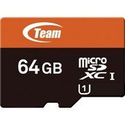 фото TEAM 64 GB microSDXC UHS-1 + SD Adapter TUSDX64GUHS03