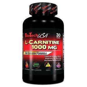 фото BioTech L-Carnitine 1000 mg, 30 тabs