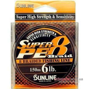 фото Sunline Super PE 8 Braid (0.148mm 150m 4.0kg)