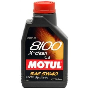 фото Motul 8100 X-Clean 5W-40 1л