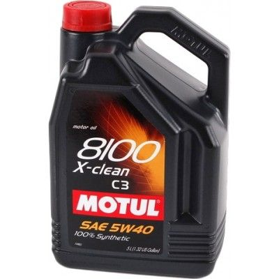 Motul 8100 X-Clean 5W-40 5л