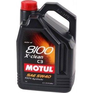 фото Motul 8100 X-Clean 5W-40 5л