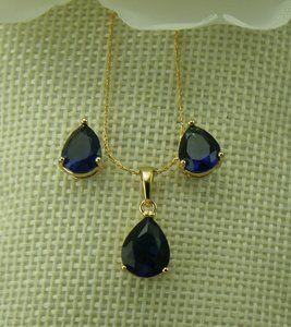 фото Набор ХР Позолота (синяя капля кристалл)