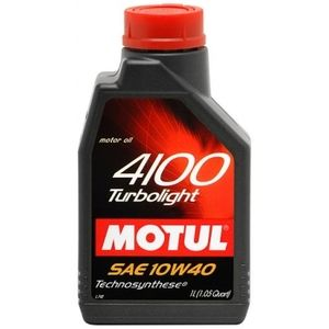 фото Motul 4100 Turbolight 10W-40 1л