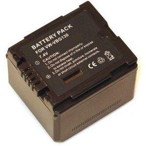 фото PowerPlant Aккумулятор для Panasonic VW-VBG130 Chip (1320 mAh) - DV00DV1275