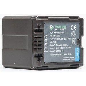 фото PowerPlant Aккумулятор для Panasonic VW-VBG260 Chip ( mAh) - DV00DV1276
