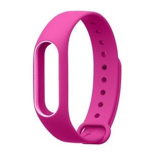 фото Xiaomi Ремешок для браслета Mi Band 2 Pink/White