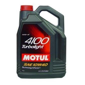 Motul 4100 Turbolight 10W-40 5л
