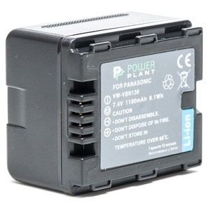 фото PowerPlant Aккумулятор для Panasonic VW-VBN130 (1100 mAh) - DV00DV1295