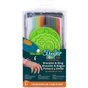 фото 3Doodler Набор аксессуаров для 3D ручки START ЮВЕЛИР, 48 стержней, 2 шаблона (3DS-DBK-JW)