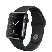 фото Apple 38mm Space Black Stainless Steel Case with Black Sport Band (MLCK2)