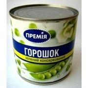 фото Премія Горошек зеленый консервированный 400г