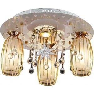 фото Altalusse Потолочный светильник LV219-04 White & Gold (8599869001362)