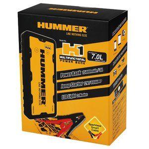 фото Пуско-зарядное устройство HUMMER H1 Jump Starter + Power Bank + LED фонарь