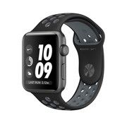 фото Apple Watch Nike+ 38mm Space Gray Aluminum Case with Black/Cool Gray Nike Sport Band (MNYX2)