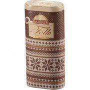фото Basilur Черный чай Этническая коллекция Коричневый ж/б 100г