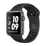 фото Apple Watch Nike+ 42mm Space Gray Aluminum Case with Anthracite/Black Nike Sport Band (MQ182)