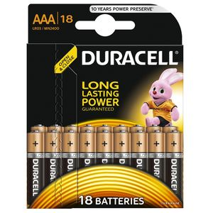 фото Duracell AAA bat Alkaline 18шт Basic 81546741