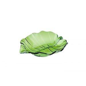 фото Granchio Салатница Tropical leaf 22x19 см 88767