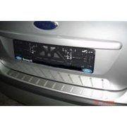 фото NataNiko Накладка на задний бампер для Ford Focus