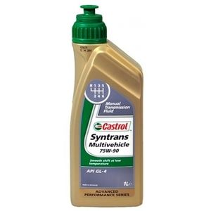 фото Castrol Syntrans Multivehicle 75W-90 1л
