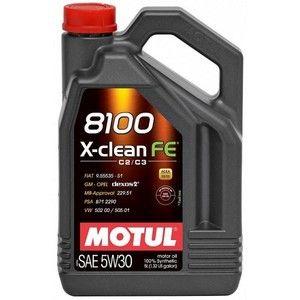 фото Motul 8100 X-Clean FE 5W-30 4л