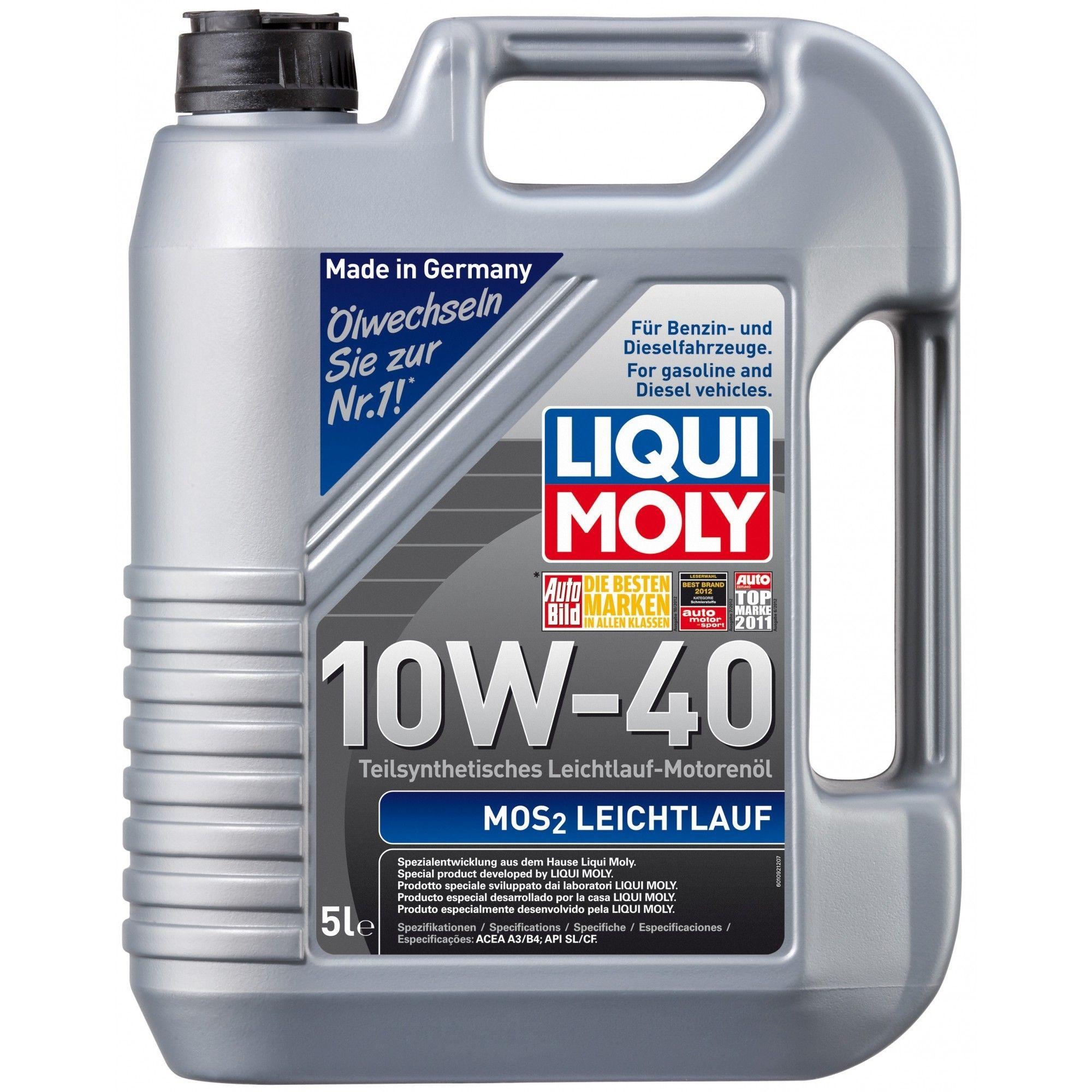 Liqui Moly MoS2 Leichtlauf 10W-40 5л
