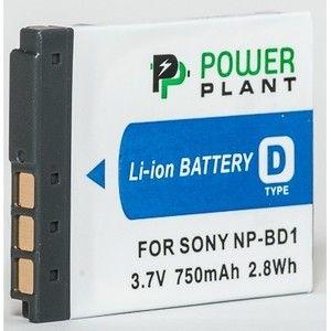 фото PowerPlant Aккумулятор для Sony NP-BD1, NP-FD1 (750 mAh) - DV00DV1204