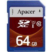 фото Apacer 64 GB SDXC Class 10 UHS-I AP64GSDXC10U1-R