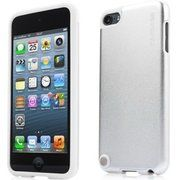фото CAPDASE Alumor Jacket Elli Silver/White for iPod touch 5 (MTIPT5-51S2)
