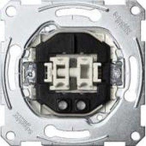фото Schneider Electric Механизм двухклавиш. выключателя Merten, 1 полюс, с подсветкой (MTN3165-0000)