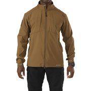 фото 5.11 Tactical Куртка тактическая для штормовой погоды Sierra Softshell 78005 M Battle Brown (2