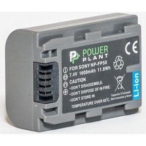 фото PowerPlant Aккумулятор для Sony NP-FP50 (1600 mAh) - DV00DV1025