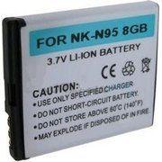 фото PowerPlant Аккумулятор для Nokia BL-6F N78 (1150 mAh) - DV00DV1211