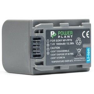 фото PowerPlant Aккумулятор для Sony NP-FP70 (1800 mAh) - DV00DV1026