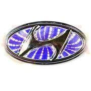 фото Slight Светодиодная подсветка эмблемы Hyundai 3D Sonata/I30 (синяя)