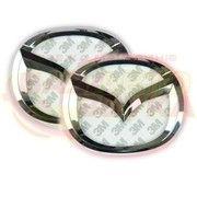 фото Slight Светодиодная подсветка эмблемы Mazda 3 (бело-красная)