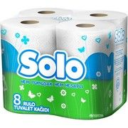 фото SOLO Туалетная бумага двухслойная Ультра 8 рулонов (32361600_8690530005815)