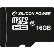 фото Silicon Power 16 GB microSDHC Class 10 SP016GBSTH010V10
