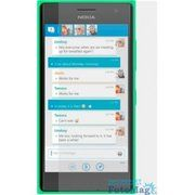 фото Drobak Глянцевая пленка для Nokia Lumia 730/735 (505135)