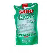 фото Sano Средство для мытья стекол Green запаска, 750 мл