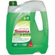 фото Sibiria Antifreeze ОЖ-40 G11 зеленый 1л